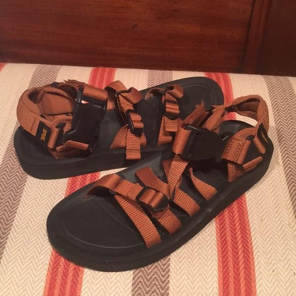cbad497af2f Men s Teva Alp Premier Fired Brick Strappy Sandals.  M 5b275aea819e90ac4e73de53
